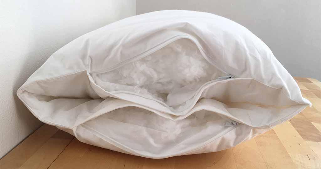 oreiller Wopilo Plus intérieur