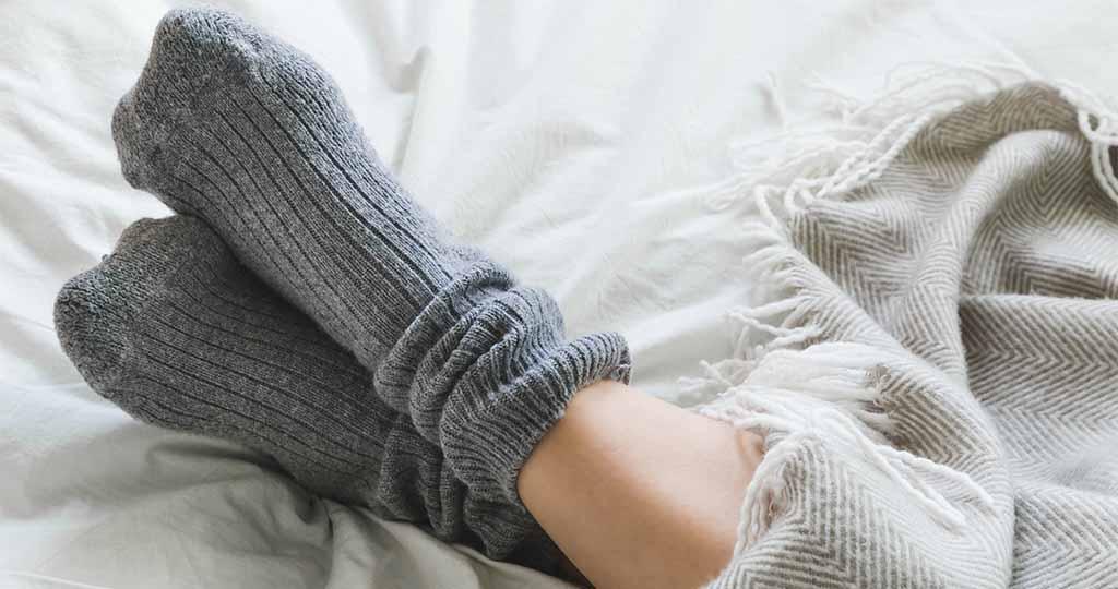 dormir en chaussettes