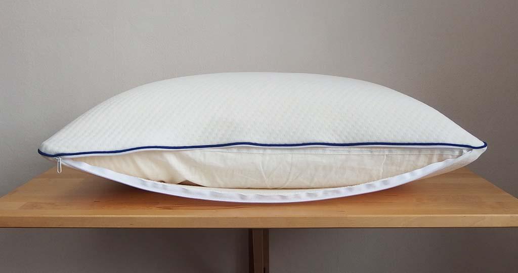 oreiller bleu câlin intérieur