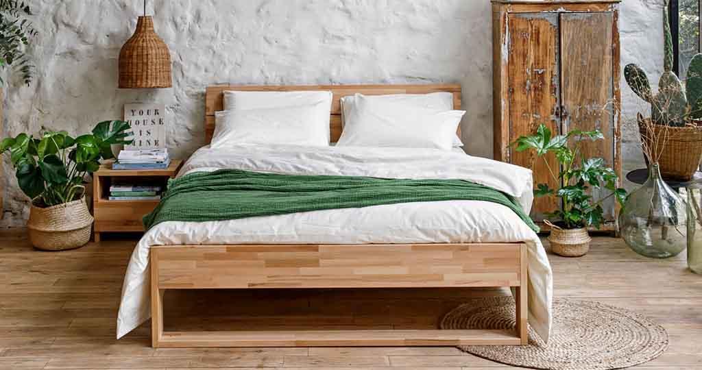 lit en bois kipli